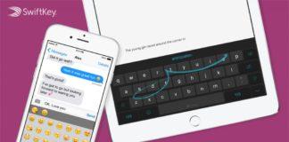 لوحة المفاتيح SwiftKey